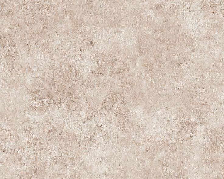 Tapete A.S. Kollektion Decoworld Vliestapete Mustertapete Farbe Beige  Versetzter Ansatz Cm Größe X M