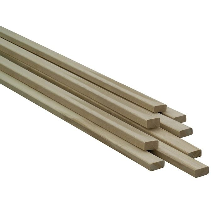 1 X 2 X 8 Ft Furring Strip Common 0 75 In X 1 5 In X 8 Ft Actual In 2020 Stripped Wall Wood Strips Spruce Pine