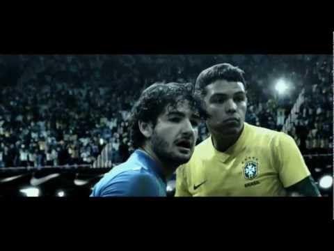 The Brazilian team faces his greatest adversary, l'avversario più duro nello sport siamo noi stessi. #viral #nike