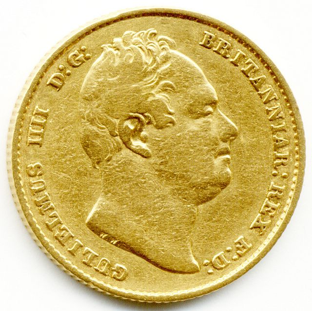 1832 King William IV Gold Full Sovereign Coin GOLD COINS FOR SALE IN LONDON 1STSOVEREIGN.CO.UK