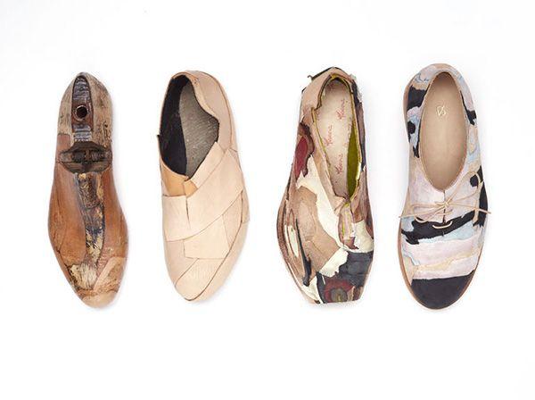 Geología de un zapato