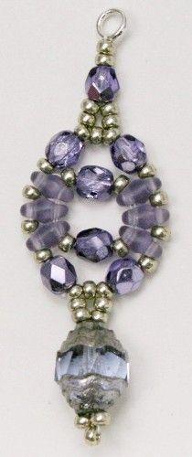 Deb Roberti's Circe Earring Pattern