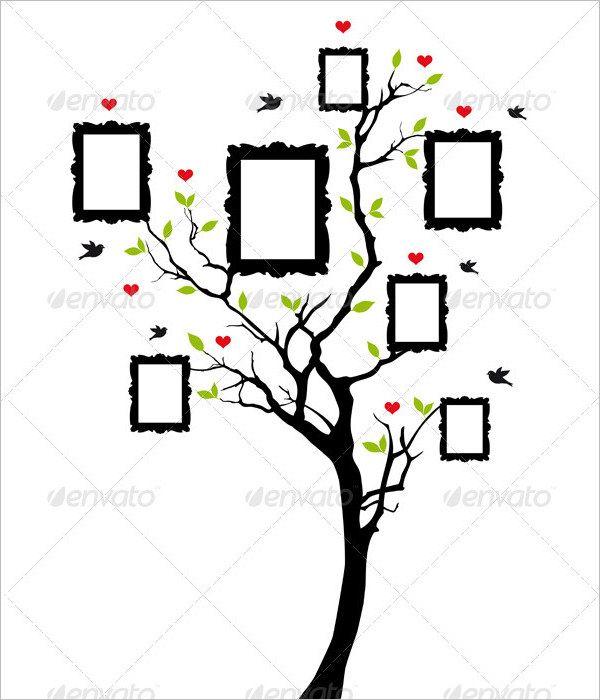 Blank Family Tree 12+ blank family tree template aplication - family tree chart template