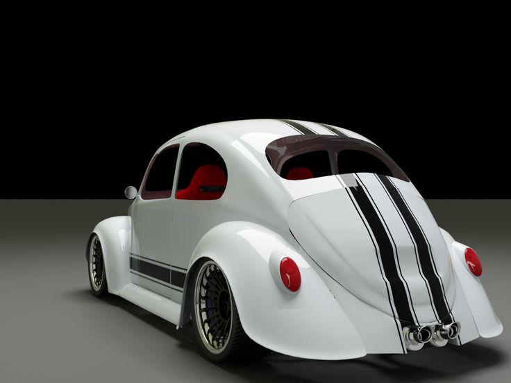 69 Custom VW Beetle