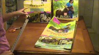Feed sack bag tutorial https://www.youtube.com/watch?v=_jt6Txw04Qk
