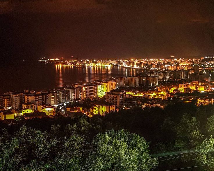 Again,  we have the best views possible where we stay:) This time we spend the night in the coastal town of Vlora - Albania