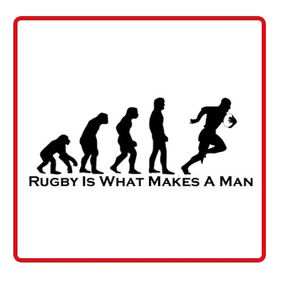 Evolution of a Rugby Fan :)