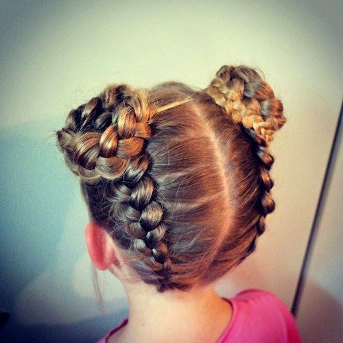Surprising 1000 Ideas About Little Girl Braids On Pinterest Girls Braids Short Hairstyles For Black Women Fulllsitofus
