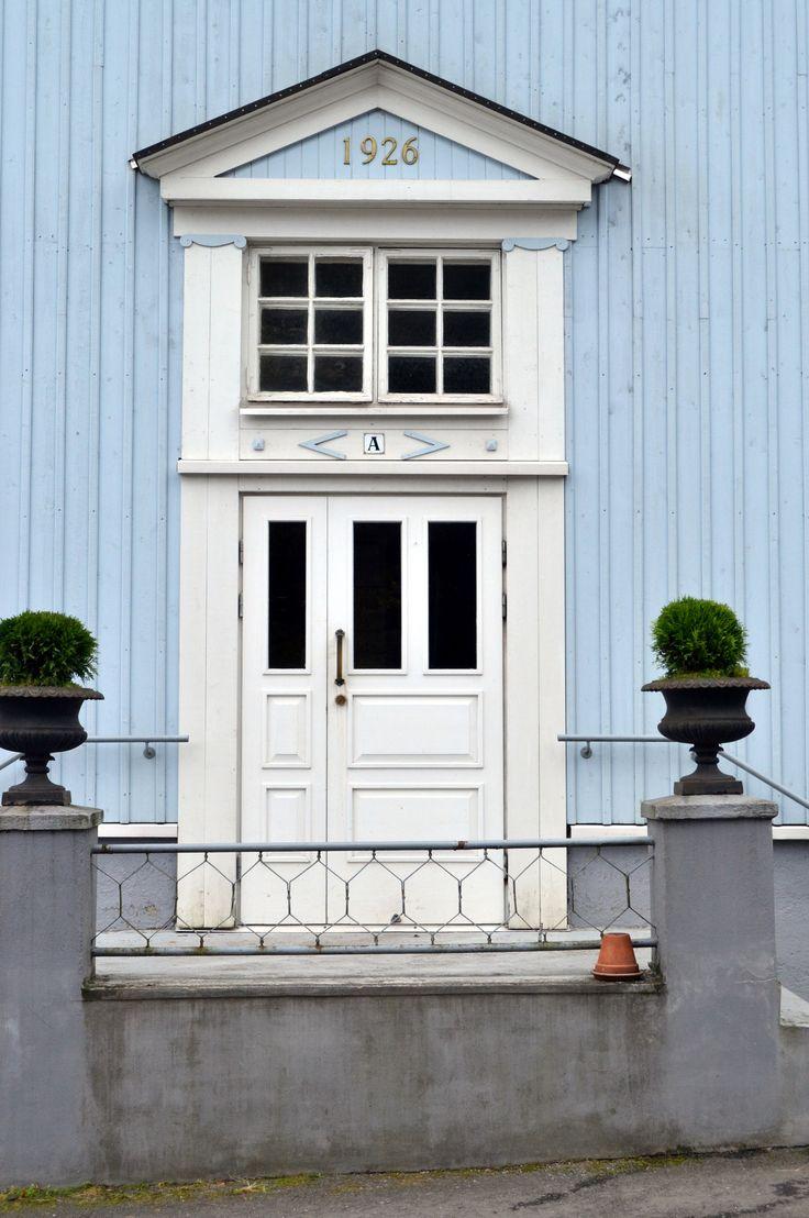 Old door in Pyynikki Tampere