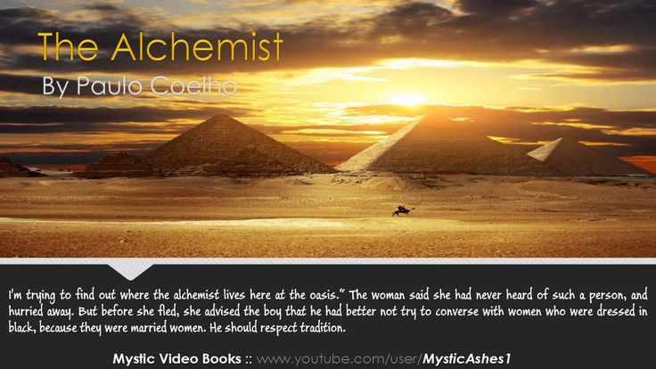 The Alchemist By Paulo Coelho - Audiobook [original] (At this point, it's probably faster than reading the book. Pinning for later.)