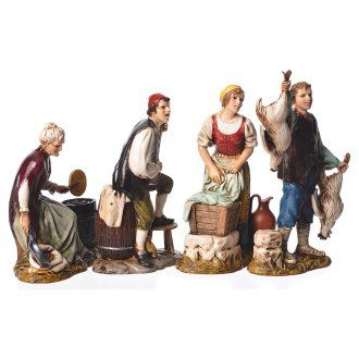 Figuras 4 profesiones belén Moranduzzo 12 cm | venta online en HOLYART