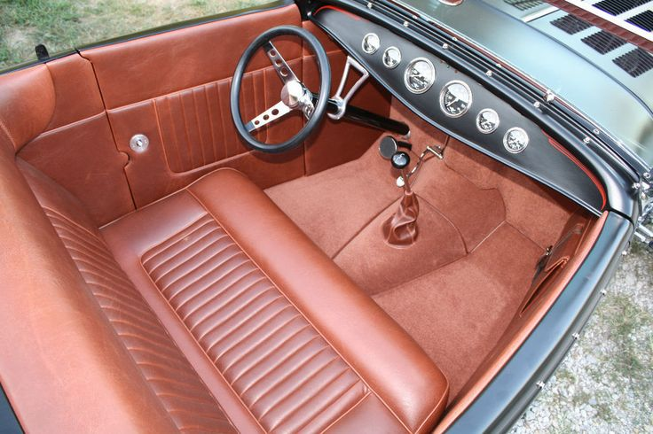 hot rod custom car interiors show quality leather upholstery custom car interior car. Black Bedroom Furniture Sets. Home Design Ideas