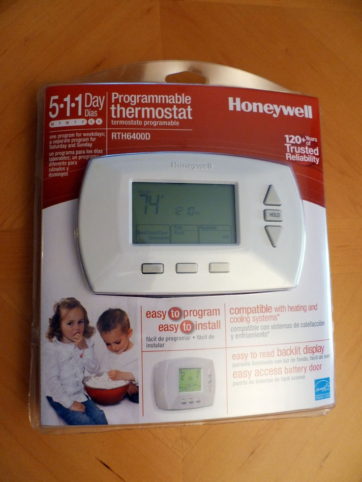 honeywell 5 day programmable thermostat manual