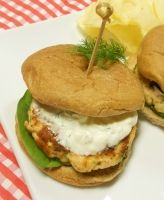 Salmon Burgers with Dill Tartar Sauce - 1 pound Fresh Salmon fillet ...