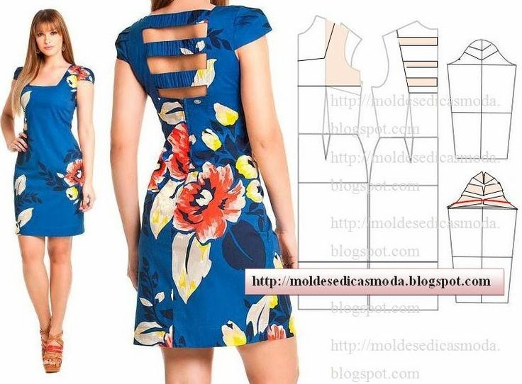 Plantillas de moda para Medida: TRANSFORMACIÓN DE VESTIDOS _103
