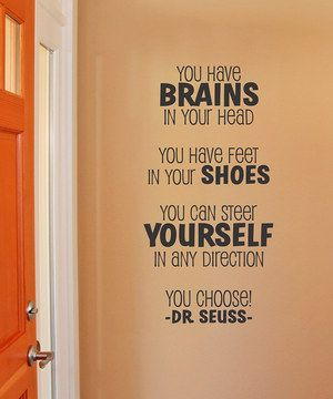 Another great find on #zulily! Black 'Steer Yourself' Wall Quote by Wallquotes.com by Belvedere Designs #zulilyfinds