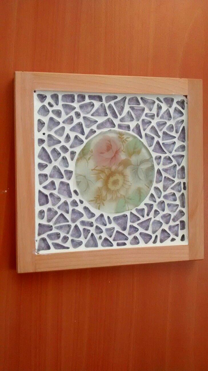 Mosaico en vidrio