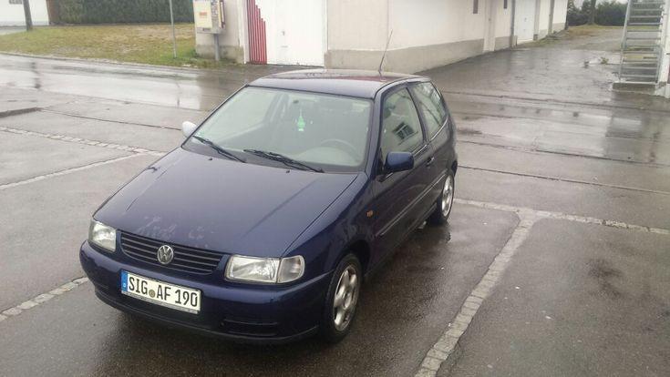 blauer VW Polo 6N 60 PS 1,4 l