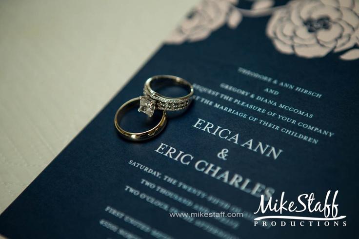 #wedding rings #Michigan wedding #Mike Staff Productions #wedding details #wedding photography #Wedding photo ideas #wedding pictures #wedding invitation