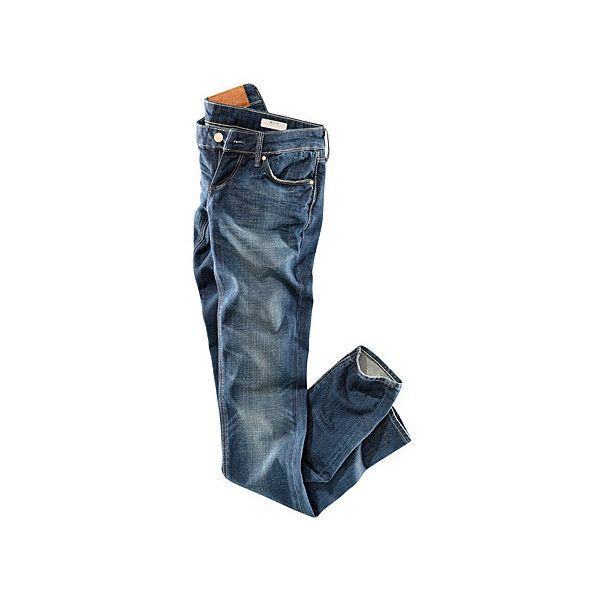 jeans, blue, H&M found on Polyvore featuring polyvore, women's fashion, clothing, jeans, pants, bottoms, pantalones, h&m skinny jeans, h&m jeans and blue jeans