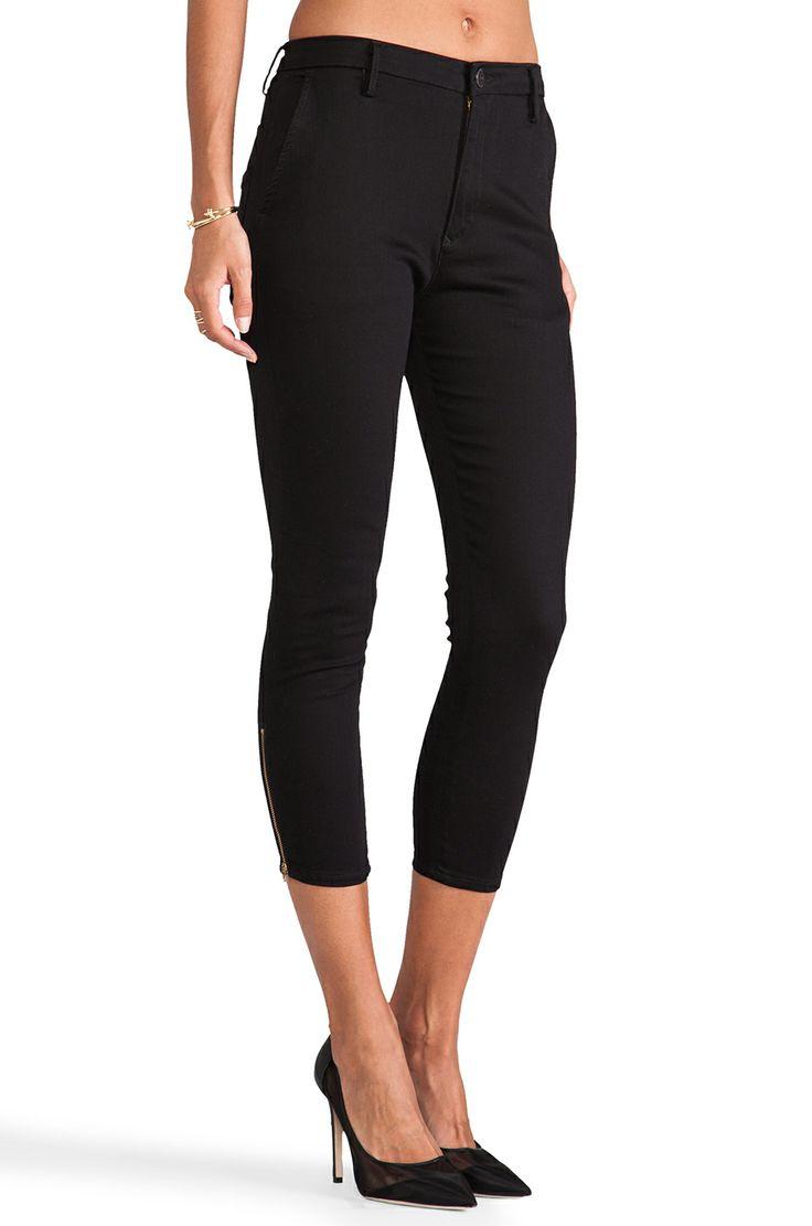 dressy black capri pants - Pi Pants