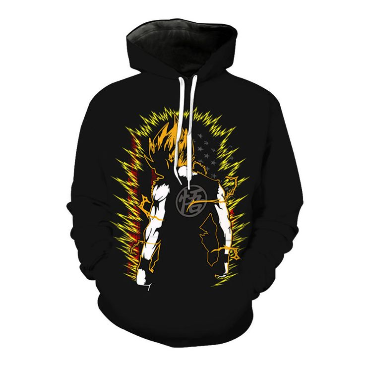 Anime Hoodie Guy - Dragon Ball Z - Free Shipping Worldwide