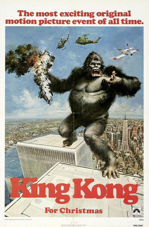 King Kong Siempre me pregunté al ver el póster ¿Cómo no se iba para atrás?