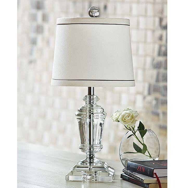 Mini Crystal Urn Lamp — Bellissimo!
