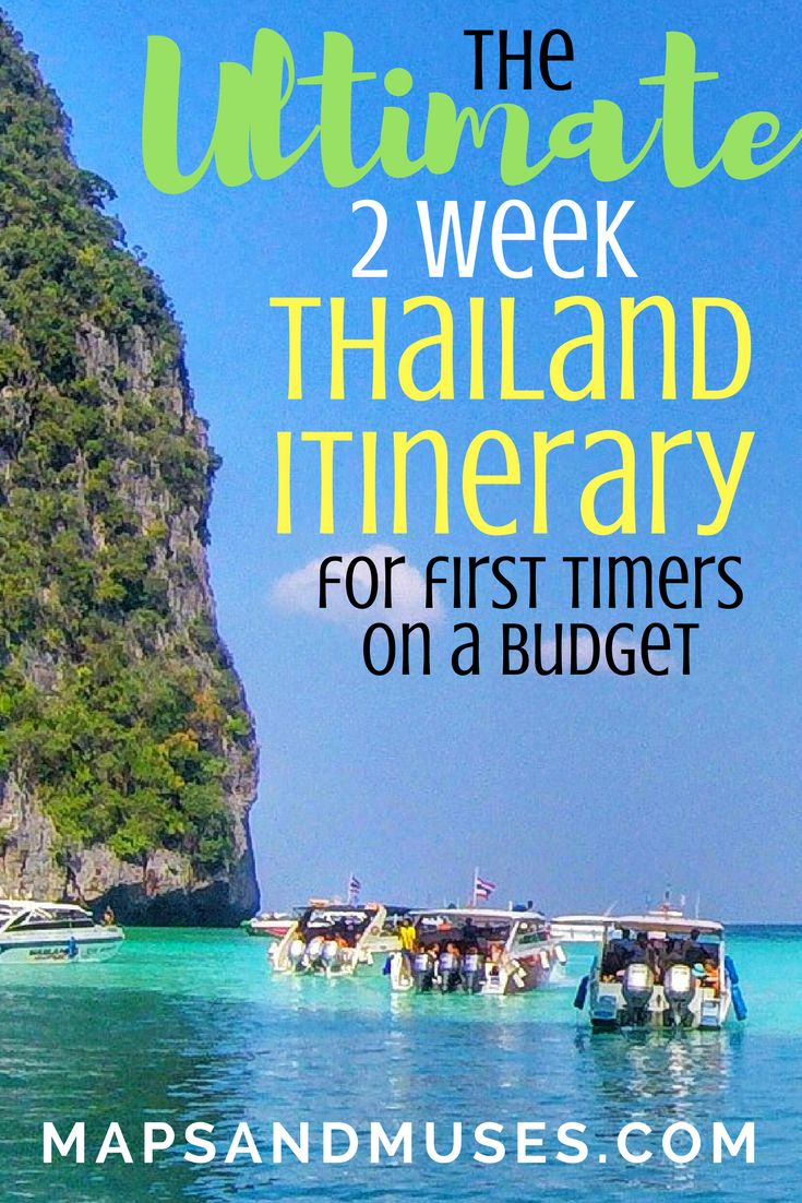 Heading to Thailand for the first time? Check out my ultimate 2 week Thailand itinerary perfect for first timers, couples, or anyone on a budget.