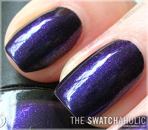 This is my all time favorite #OPI nail color, Ink.