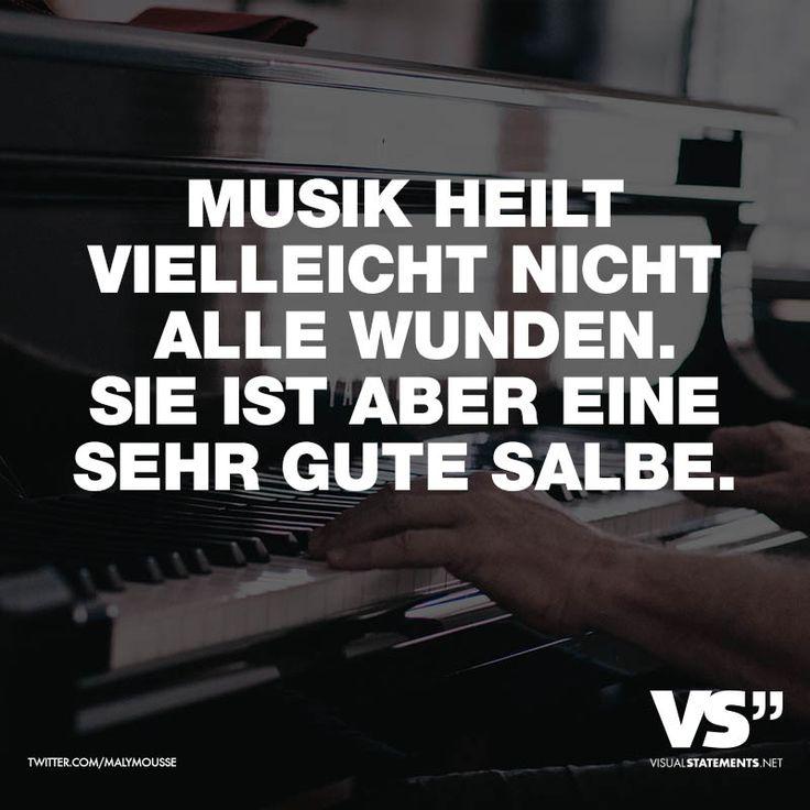 Musik heilt vielleicht nicht alle Wunden. Sie ist aber einen sehr gute Salbe
