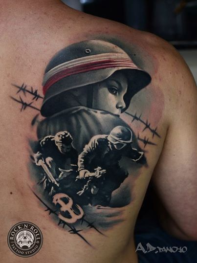 Tattoos by A.D. Pancho - Inked Magazine