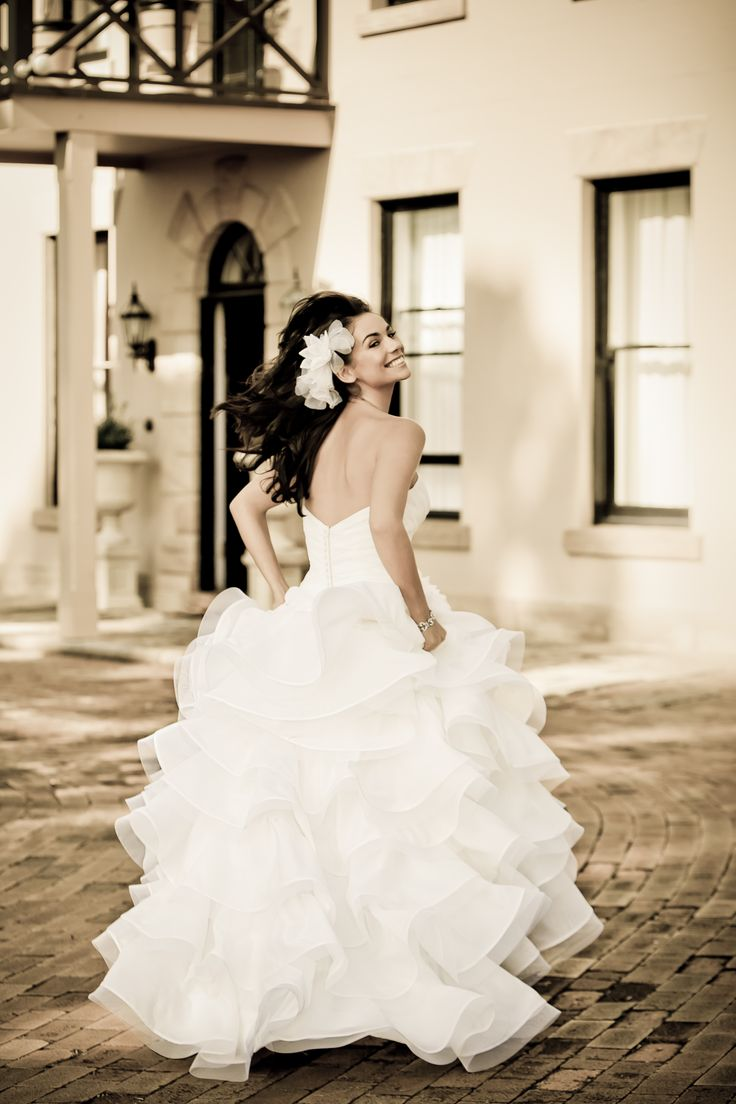 Georgeous Halo Bridal Gown 7957