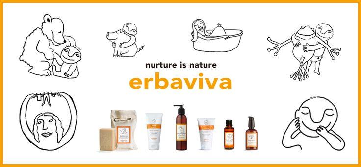 erbaviva biologische huidverzorging voor moeder en kind