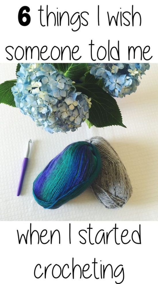 6 Things I wish Someone Told Me When I started Crocheting