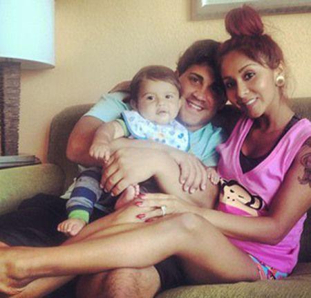 Big Lorenzo, Daddy jionni, and Mama Nicole Pollizi aka Snookie