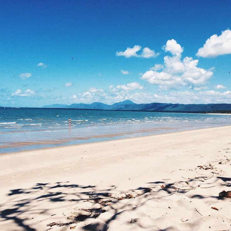 Wonga Beach up near the Daintree National Park  #VSCOcam #travel #australia #beach by hamishkidd