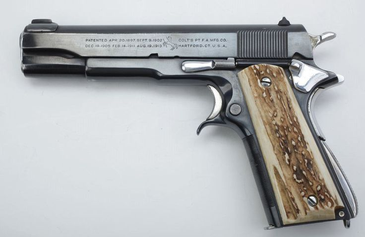 Early Customization of the 1911 Pistol