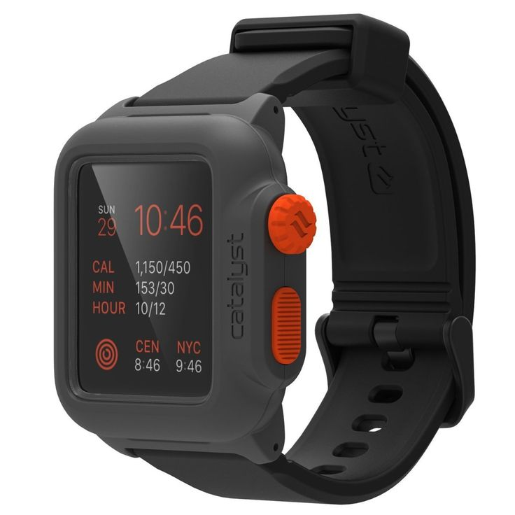 CATALYST Waterproof Case for Apple Watch - Introducing the first of its kind, a fully functional, award winning, waterproof case for Apple watch. Now you can take your Apple Watch with you everywhere. $66.95 #Catalyst #AppleWatch
