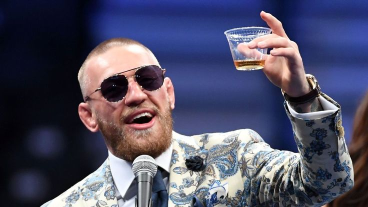 Slainte: Conor toasts Floyd, laments endurance #FansnStars