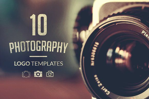 10 Photography Logo Templates by TomAnders on @creativemarket https://crmrkt.com/yxXGOG