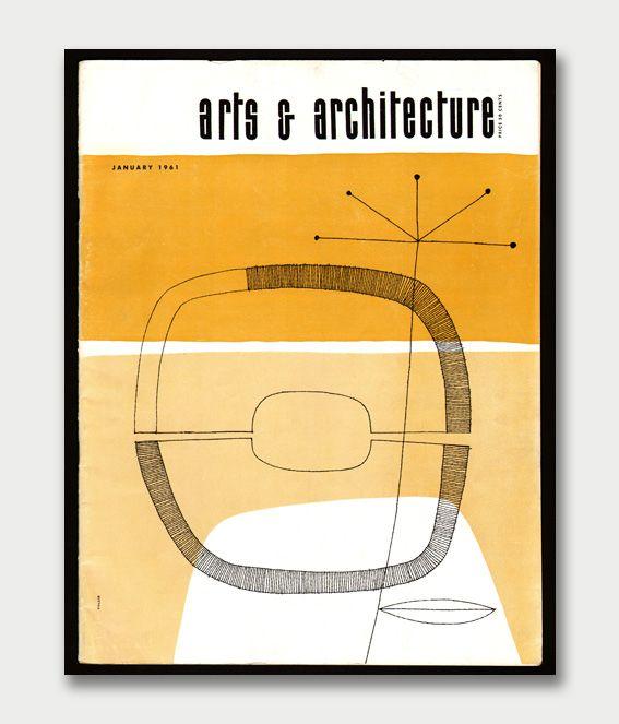 Arts & Architecture magazine cover