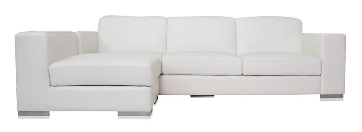 White Leather Sofa With. leather sectional couches for sale. leather sectional…
