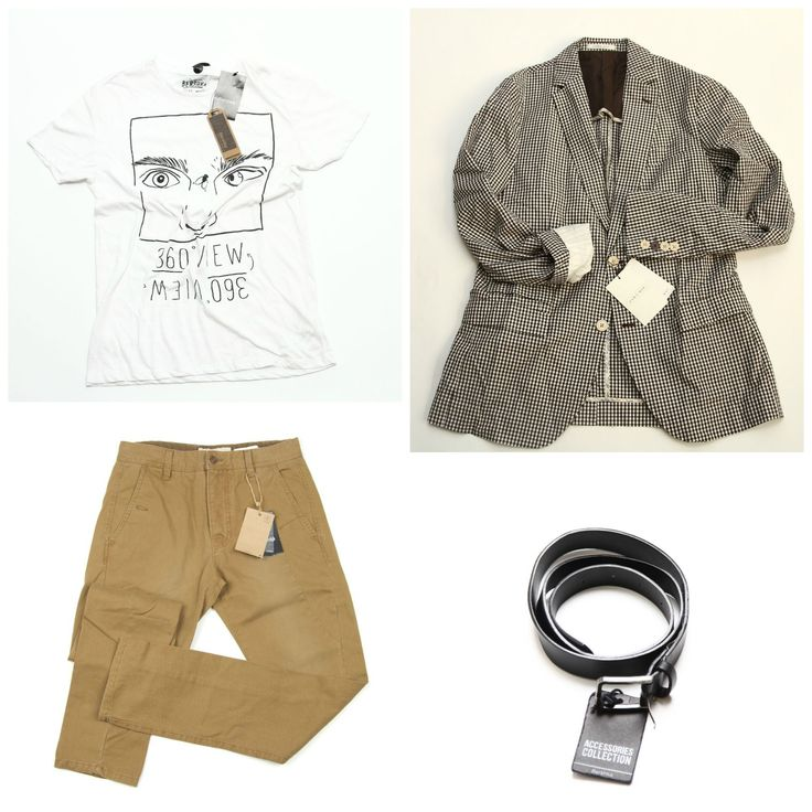 Casual-elegant outfit for men