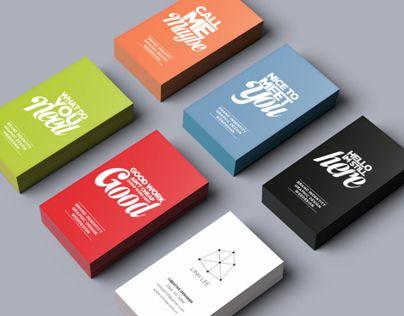 Linh Lee Logo & name card design collection