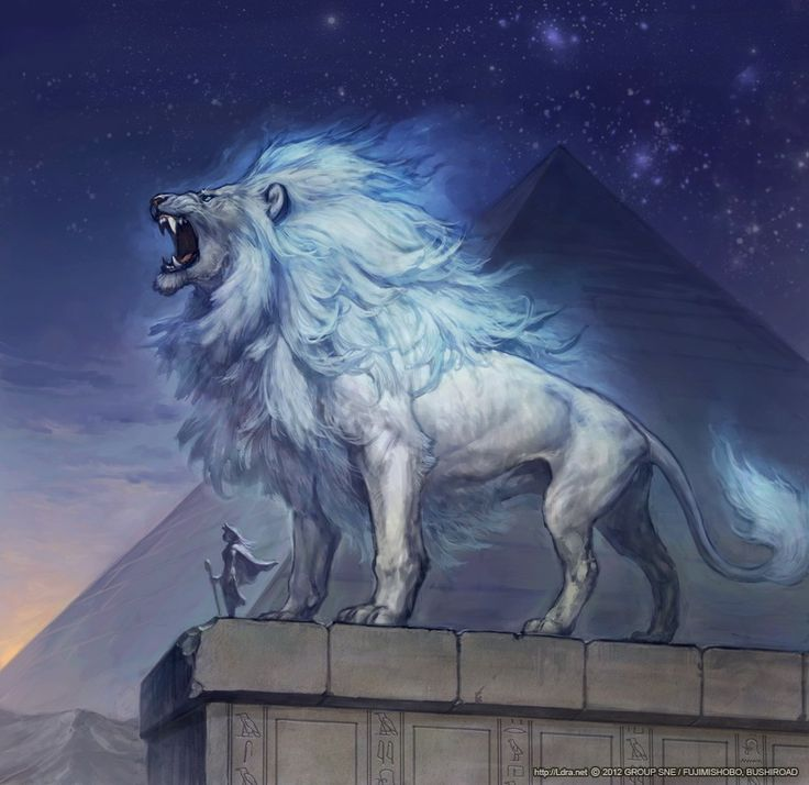 As the Lion stands up on a cold night and Roars ♌