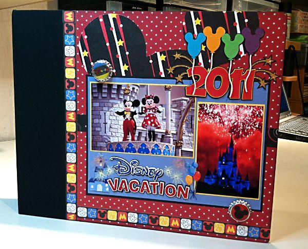 Disney Vacation album cover - Scrapbook.com
