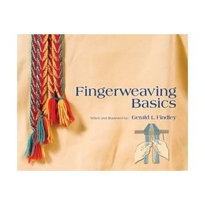 Finger weaving book