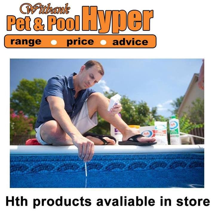Testing your pool water doesn't have to be complicated! Our HTH® 6-Way Test Strips require just one dip and test for free chlorine, bromine, pH, total alkalinity, total hardness, cyanuric acid and stabilizer. Available from Pet & Pool Hyper Witbank. #hth #swimmingpool