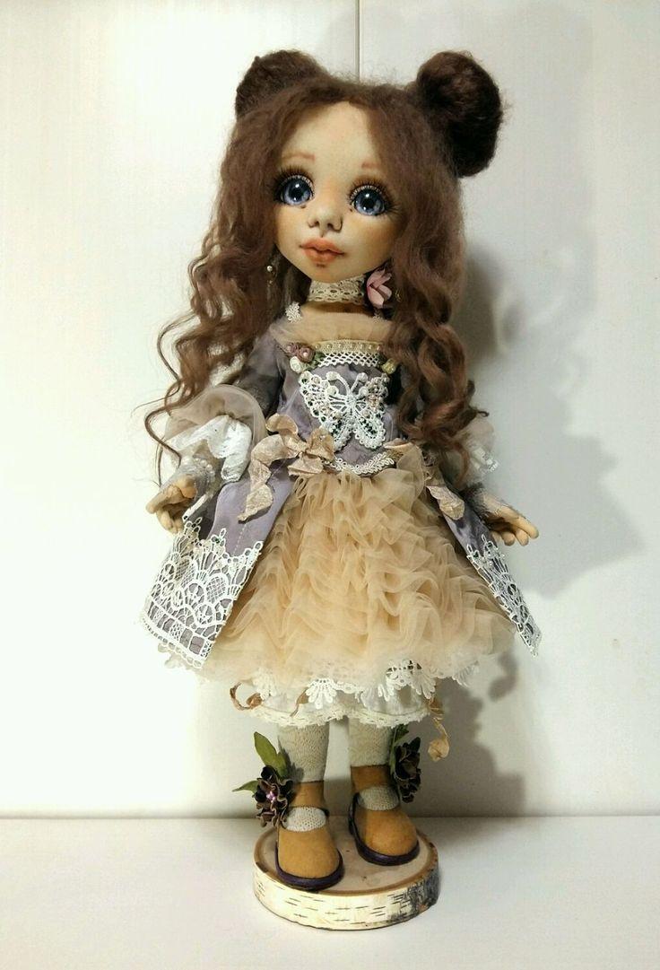 Интерьерная кукла Маргарита – купить в интернет-магазине на Ярмарке Мастеров с доставкой